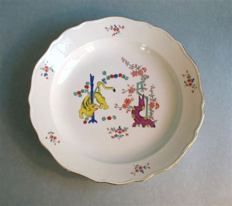 hill design porcelain nineteenth century meissen kakiemon charger from