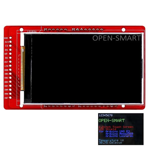 Lcd Protect 3 0 open smart 3 0 quot inch tft lcd display shield with