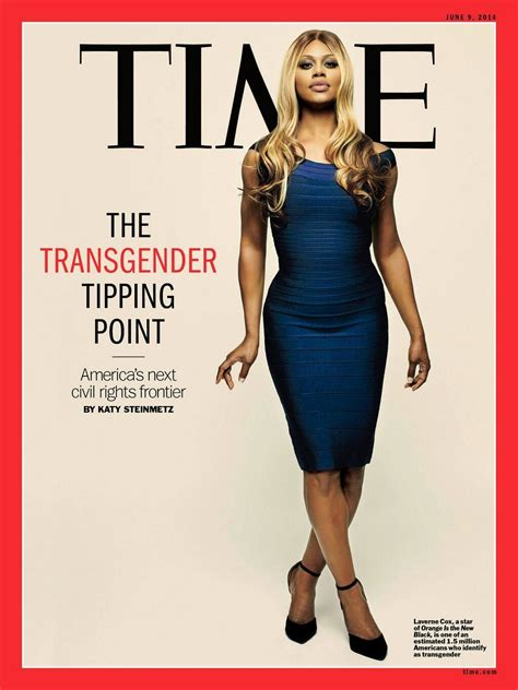 laverne cox is on the cover of time magazine buzzfeed covers laverne cox on time magazine