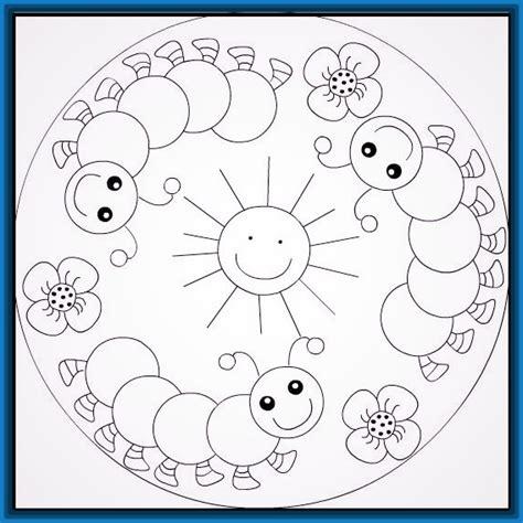 mandalas ver imagenes dibujos de mandalas para ni 241 os faciles dibujos de mandalas