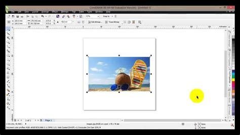 tutorial corel draw x6 coreldraw x6 tutorial 12 how to use the crop tools youtube