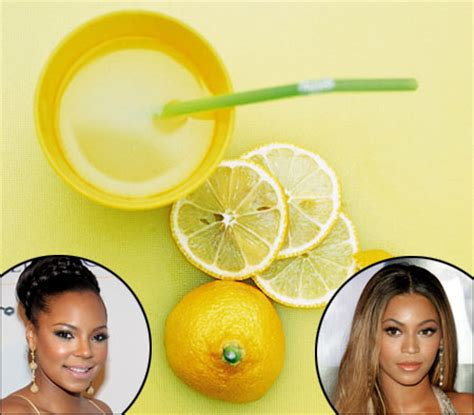 Beyonce Lemon Detox Diet by Lemonjuiceacne Just Another Site