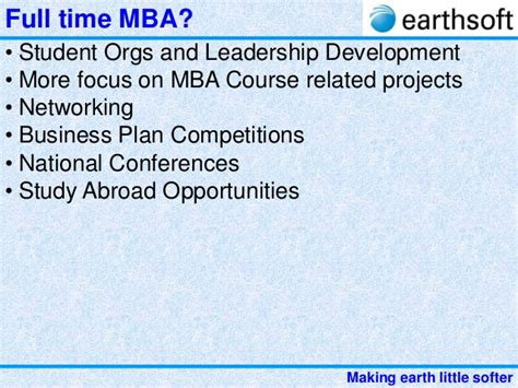 Touro Worldwide Mba 606 Assignment by 27 Earthsoft Guidance For Post Graduation After Engineering