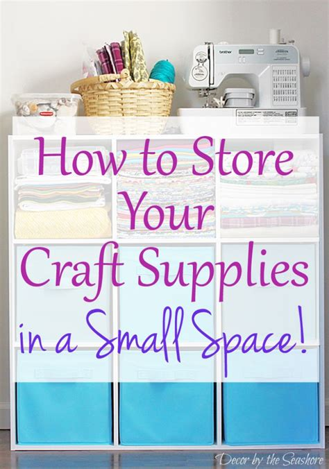 How To Make Decorations For Your Room Out Of Paper - how to store your craft supplies in a small space decor