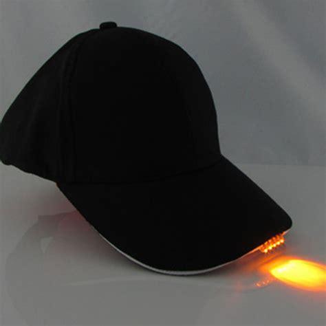 baseball cap with led lights baseball cap led hat with 5 led lights cing fishing