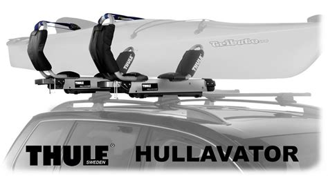 Hullavator Kayak Rack by Thule 897xt Hullavator Kayak Lift Assist Car Rooftop Rack