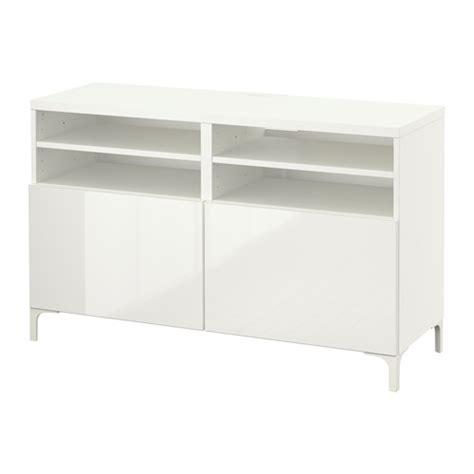 best 197 banc tv avec portes blanc selsviken brillant blanc