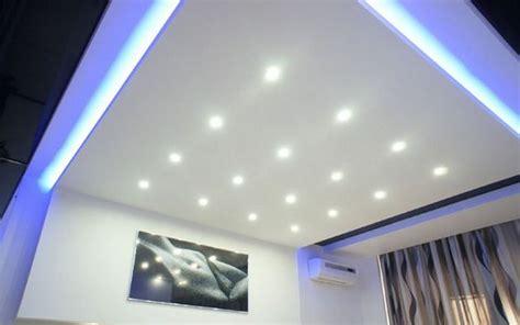 Lu Led Interior Rumah model plafon modern dengan kombinasi lu led desain tipe rumah