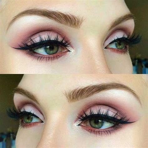 makeup tutorial natural look for green eyes how to rock makeup for green eyes makeup ideas