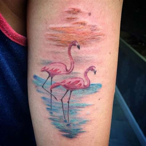 pink flamingo tattoo 50 flawless flamingo tattoos tattooblend