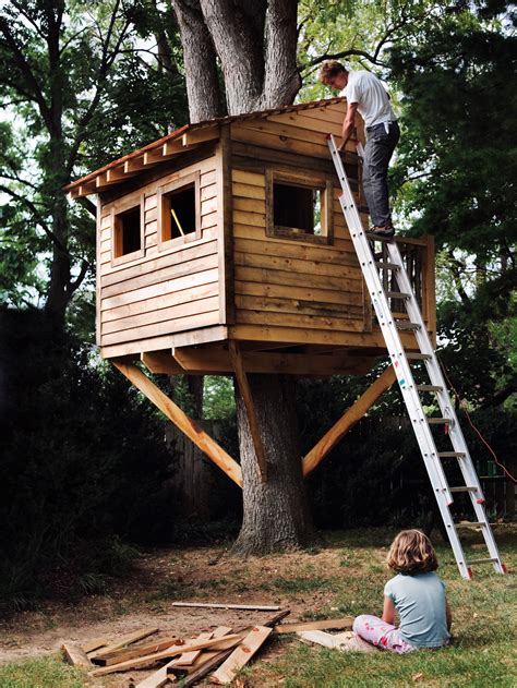 how to build a tree house how to build a treehouse for your backyard diy tree house plans