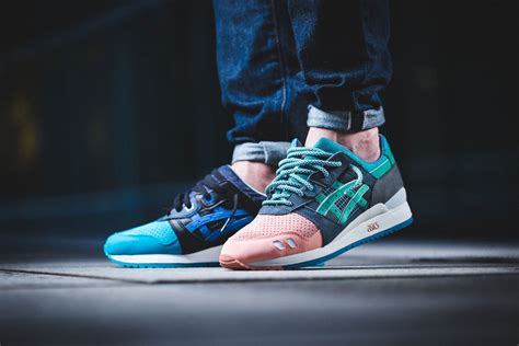 ronnie fieg x asics tiger gel lyte iii homage where to buy