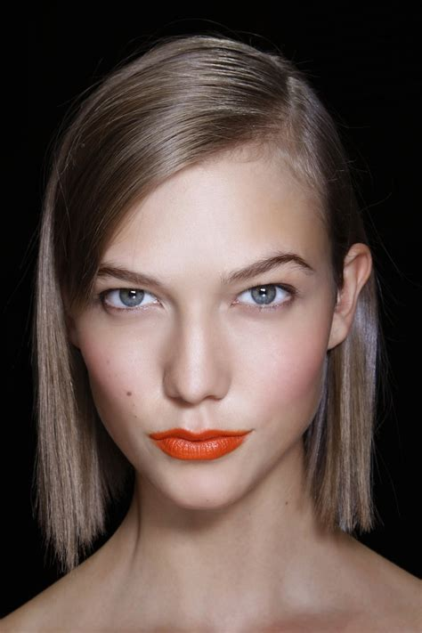 karlie kloss hair color new sharp blunt bob hairstyles 2017 hairdrome com