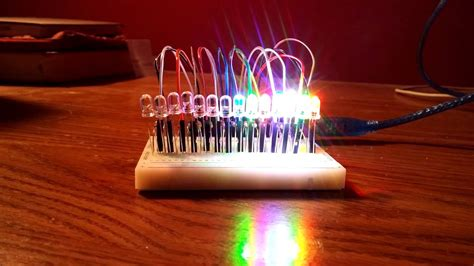 Led Projie led project using arduino uno r3
