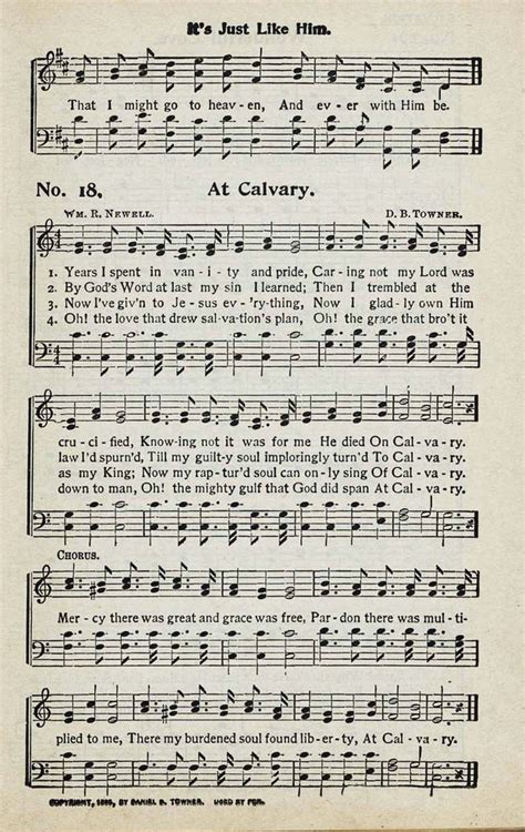 best hymns no 4 18 years i spent in vanity and pride