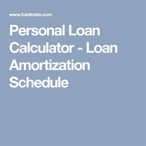 personal loan amortization table the 25 best amortization schedule ideas on
