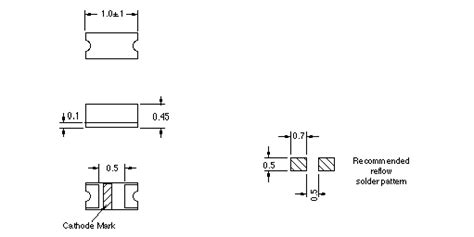 0402 resistor package dimensions idea inc 0168 series quot 0402 quot package mini chip