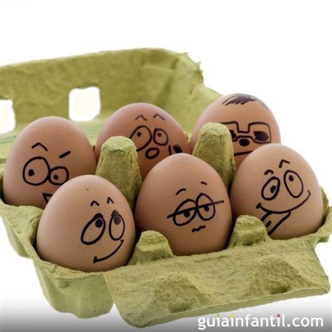 decorar huevos decorar huevos de pascua con caritas