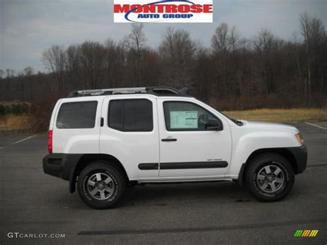 2010 avalanche white nissan xterra s 4x4 27625931 gtcarlot car color galleries