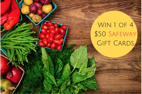 Gift Cards At Safeway - 200 february giveaway enter to win one of four 50 safeway gift cards super safeway