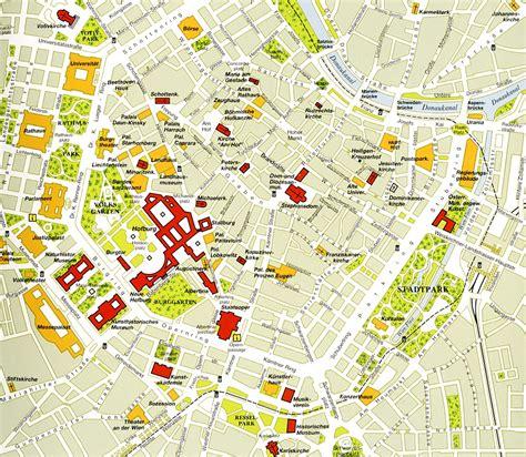 vienna map vienna centre map vienna mappery
