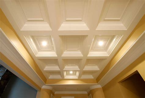 Tray Ceilings Images by Coffered Ceiling System Easy Ceiling Panel Treatments