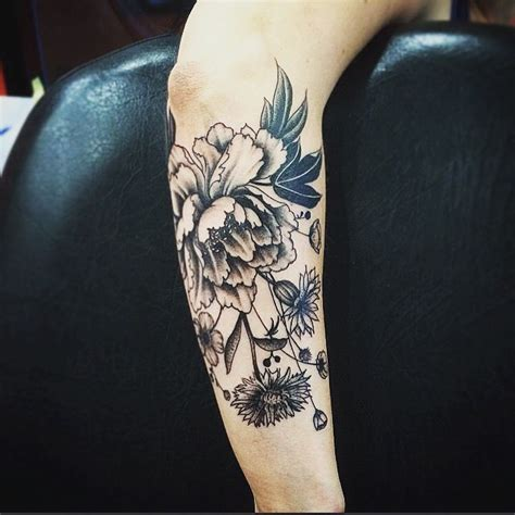 35 amazing floral tattoo designs