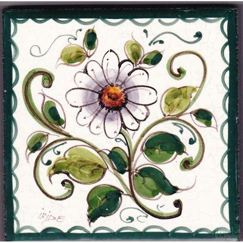 fiori di ceramica mattonella in ceramica modello fiori ceramiche