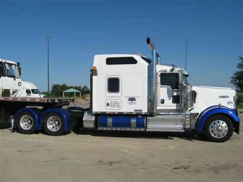 Kenworth Sleeper Mattress by Kenworth W900l 2008 Sleeper Semi Trucks
