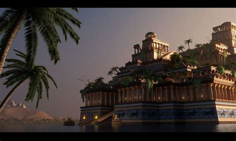 when was the hanging gardens of babylon built