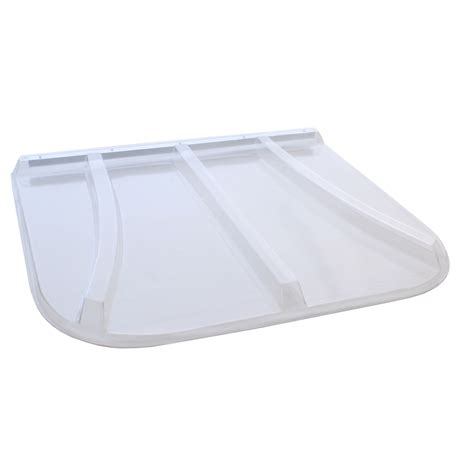 plastic window covers shop shape products 43 1 2 in x 38 in x 2 in plastic
