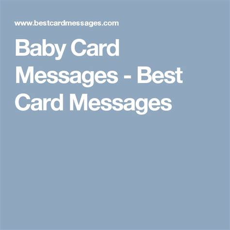 Christian Baby Shower Card Messages by Best 25 Baby Card Messages Ideas On Baby