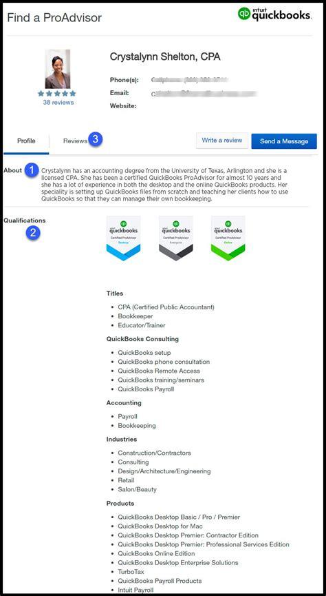 find  quickbooks proadvisor