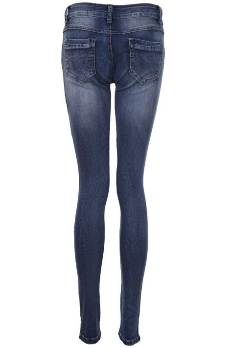 light skinny jeans womens ladies light acid wash dark denim women s studded skinny