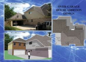 House Over Garage over garage house addition space design solutions
