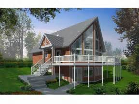Frame House Plans Gallery For Gt A Frame House Plans With Basement