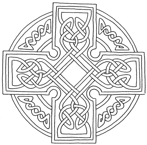 free coloring pages of celtic drawings