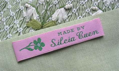 Handmade Labels For Handmade Items - iron on fabric labels iron on woven clothing labels