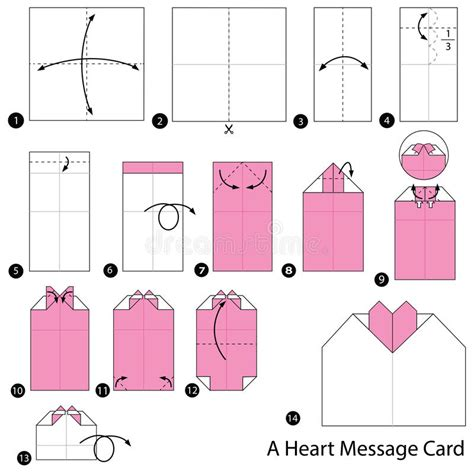 How To Make Origami Cards Step By Step - step by step how to make origami a