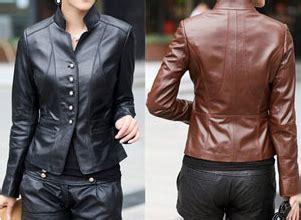 Jaket Wanita Original Inficlo 130 1 jual jaket kulit kambing asli murah jual jaket kulit