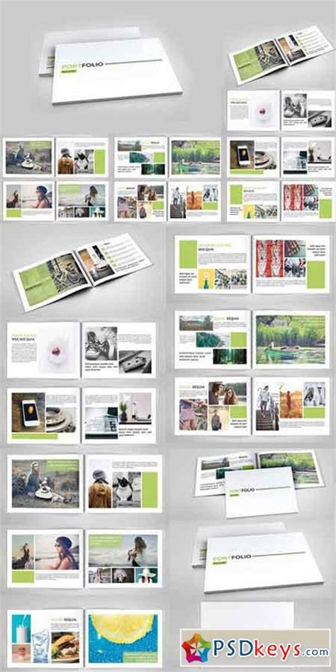 portfolio templates indesign indesign portfolio brochure v127 285469 187 free