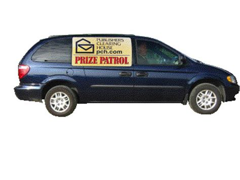 Pch Prize Patrol Van - it s a race to the finish for the big prize pch blog