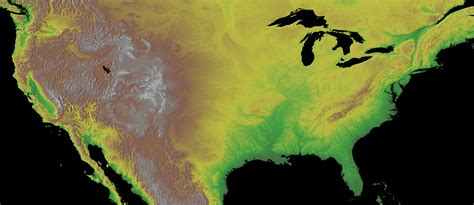 topo map usa floods and flows exploring mars geology on earth
