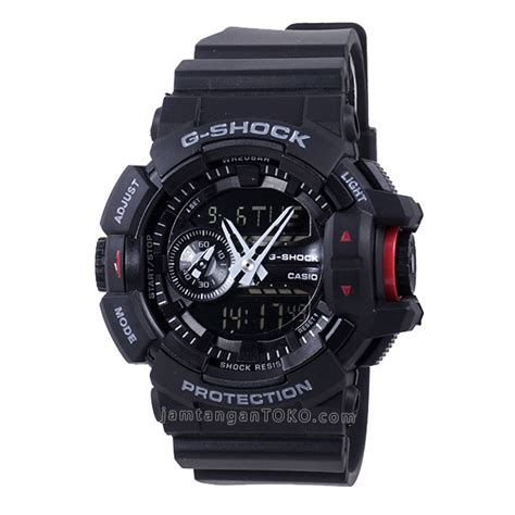 harga sarap jam tangan g shock ga400 1b black ori bm