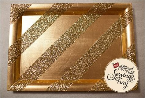 diy glitter on my vanity diy glittered gold serving tray glitter vanities and trays