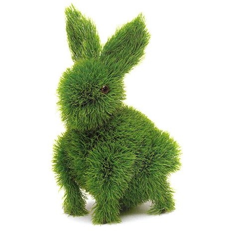 rabbit topiary whimsical easter decorations your children will
