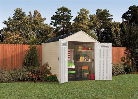 best backyard sheds rubbermaid 7x7 feet x large outdoor storage shed best sheds 10 to choose for your