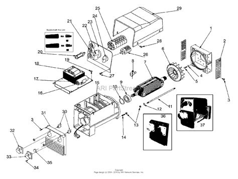 briggs  stratton power products hpp  bswac parts diagram  alternator  outlet