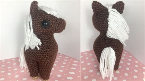 amigurumi horse amigurumi crochet tutorial part 2
