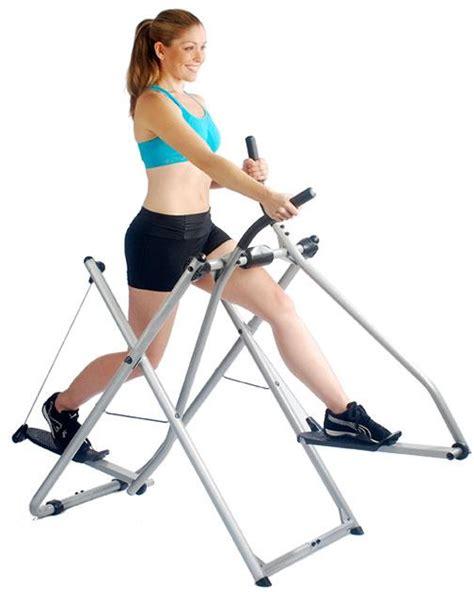 leg swing exercise machine tony little gazelle glider platinum model central